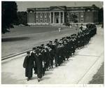 West Tennessee State Teachers College graduation, 1935