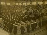Memphis State College graduation ceremony, 1955