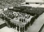Memphis State University graduation ceremony, 1968