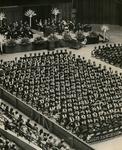 Memphis State University graduation ceremony, 1971