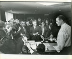Memphis ministers confront Mayor Loeb, April 1968