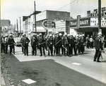 Police on Beale Street, Memphis, March 1968