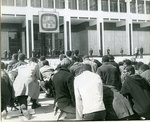 Protesters at City Hall, Memphis, March 1968