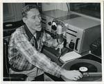 Dewey Phillips on the air, 1951