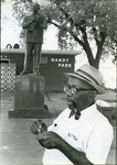Nat D. Williams at Handy Park, 1974