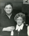 """Johnny Cash and """"Mother"""" Maybelle Carter"""