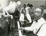 Memphis Minnie with Joe Dobbins, 1968