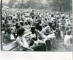 Audience at the Overton Park Shell, 1974