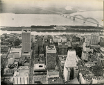 Downtown Memphis and Mud Island, 1973