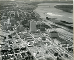 Central downtown Memphis, Tennessee, 1968