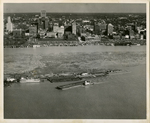 Downtown Memphis and the Riverfront, 1955