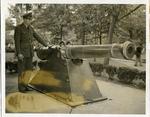 Court Square cannon, Memphis, 1942