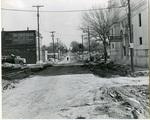 Beale Street, Memphis, under construction, 1971