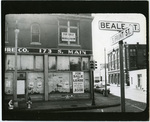 Beale and Front Street, Memphis, 1963