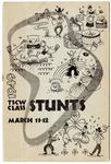 Annual Class Stunts playbill, Texas State College for Women, 1949