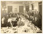 J.B. Hebron retirement banquet, Armour and Company, Memphis, 1930