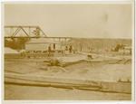 Railroad yard near Meridian, Mississippi