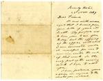 Jefferson Davis letter to Alexander M. Clayton, November 1869