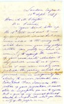 Jefferson Davis letter to Alexander M. Clayton, September 1869