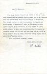 Letter to Harold Davenport from Paul Erdos, 1934