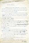 Letter to Harold Davenport from Paul Erdos