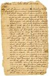 Griffin A. Stanton civil war journal, page 1