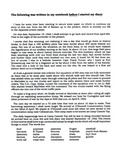J. Jack Gates diaries transcription