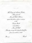 Aviation Cadet Ball invitation, Maxwell Field, 1944