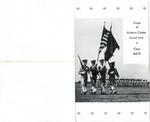 Aviation Cadets graduation ball program, Maxwell Field, 1944