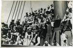 Shipboard entertainment, circa 1944