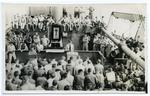 Shipboard religious service, circa 1944