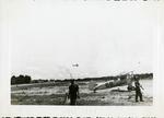 Stearman biplane at Maxwell Field, 1944