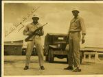 Two military policemen, Tokyo, circa 1946