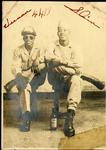 Two soldiers, 4418th Quartermaster Service Company, Tokyo, circa 1946