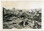Devastated Japanese city, circa 1945
