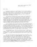 Joe Gray Taylor to John Flowers Taylor letter, February 4, 1984