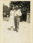 John W. Johnson and daughter Edith