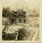 W.B. Chapman house under construction
