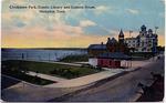 Chickasaw Park, Cossitt Library and Custom House, Memphis, TN, c. 1900