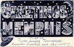 Greetings from Memphis postcard, Memphis, TN, c. 1907