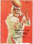 Memphis Prep League Football Jamboree program, 1964