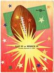 Memphis Prep Football League program, East High School vs Messick High School, 1952