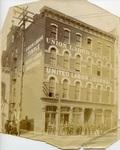 Memphis Union Labor Temple, exterior, circa 1902
