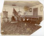 Memphis Union Labor Temple, interior, circa 1902