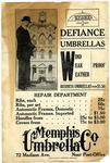 Memphis Umbrella Company flyer