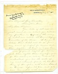 Letter to Elizabeth Avery Meriwether from John H. Reagan, 1884