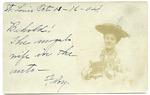 Floy Hill Eckford postcard, 1904