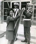 Air Force ROTC Color Guard, Memphis State University, 1974