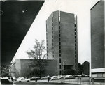 Brister Library tower, Memphis State University, 1968