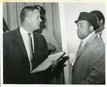 Bandleader Ben Branch after Dr. King's assassination, Memphis, 1968